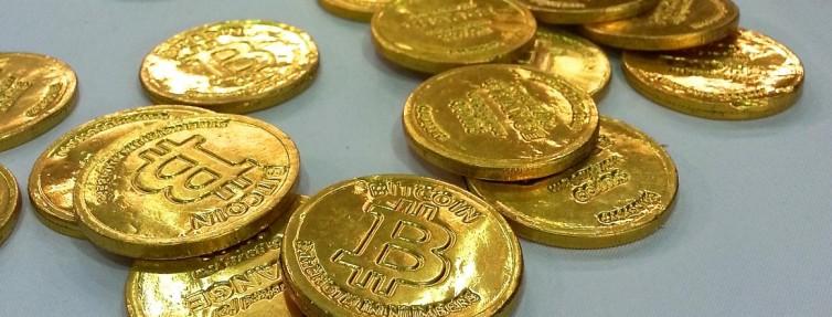 chocolate bitcoin coins